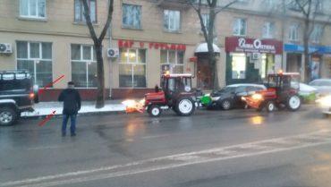 Знову сніг у Тернополі, і знову не прибирають
