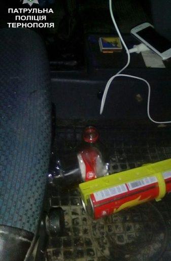 Патрульні затримали водія-втікача у Тернополі