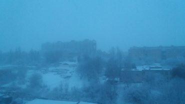Тернопіль знову замело снігом