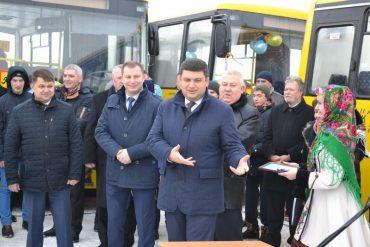 Для чого приїздив прем'єр-міністр України Гройсман на Тернопільщину?