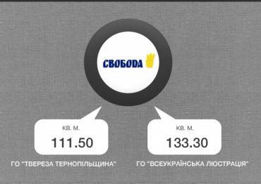 Як політичні партії Тернополя безкоштовно користуються комунальним майном