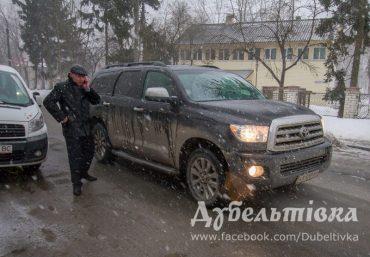 Як Олег Тягнибок реактивно їхав з Кременця до Тернополя