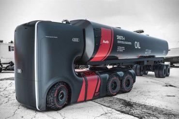 Вантажівки майбутнього від компанії Audi зроблять революцію в індустрії автоперевезень