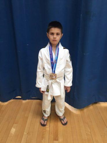 Тернополянин Назар Машлянка срібний призер відкритого чемпіонату з дзюдо в Нью-Джерсі