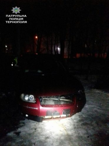Нетверезий водій втікав від патрульних і вчинив ДТП
