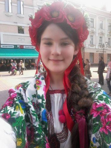 Надійка Сачко зайняла третє місце на конкурсі вокалістів