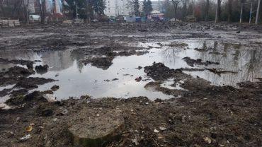 Парк культури і відпочинку імені Тараса Григоровича Шевченка у Тернополі перетворили на сміттярку