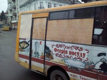 У Тернополі маршрутка №19 повернулась з фронту?