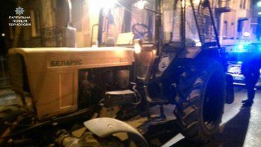Патрульні оштрафували водія трактора