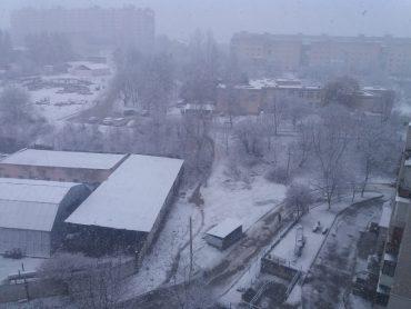 До Тернополя повернулась зима