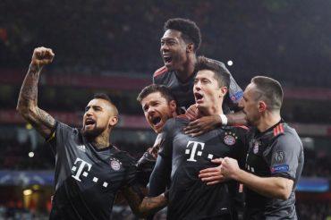 Арсенал – Баварія 1:5, а Наполі – Реал 1:3