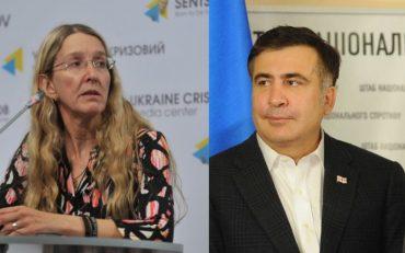 Саакашвілі ще більше розкритикував в.о. міністра охорони здоров'я Уляну Супрун