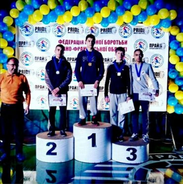 Борці з Тернопільщини стали призерами міжнародного турніру