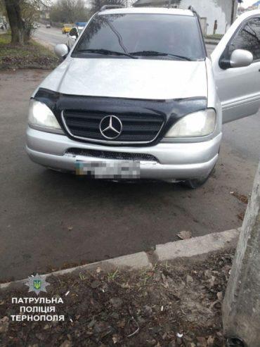 У Тернополі виявили автомобіль з підробленими документами