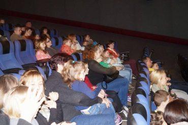 В Тернополе состоялся первый адаптивный киносеанс для детей с аутизмом