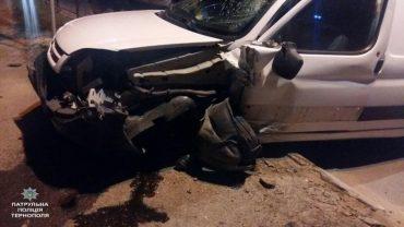 За добу у Тернополі сталося три ДТП, які вчинили нетверезі водії