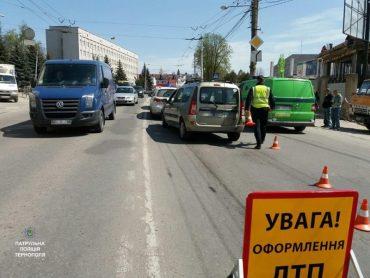 На вулиці Степана Бандери трапилась ДТП