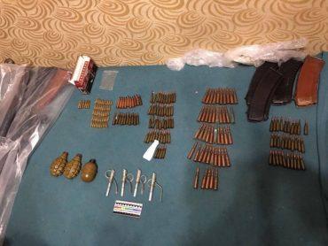 На Тернопільщині СБУ вилучено черговий арсенал