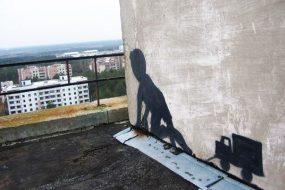 Моторошний стріт-арт Чорнобиля і Прип'яті