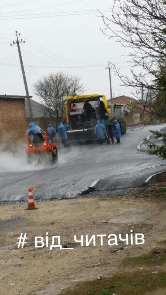 У Підволочиську халтурили при ремонті вулиці Осипова