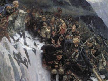 Зачем Суворов перешёл через Альпы в 1799 году?