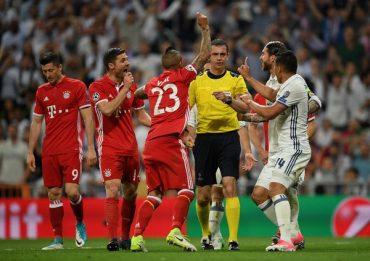 """Мадридський """"Реал"""" переміг """"Баварію"""" у чвертьфіналі з допомогою судді"""