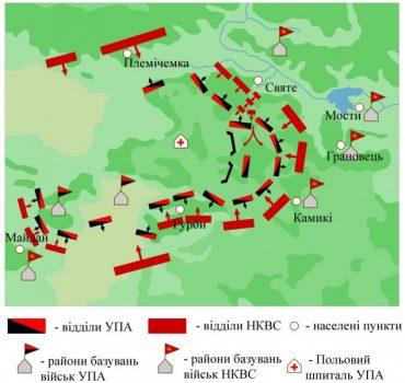 73 роки тому на Тернопільщині відбувся кривавий бій біля села Антонівці