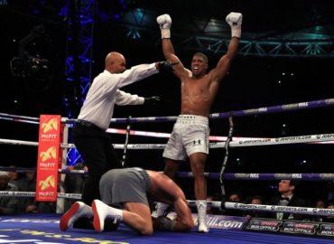 На жаль, Кличко програв британцю Джошуа в бою за титул чемпіона світу