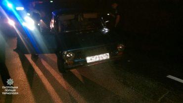 Патрульні затримали автомобільного злодія