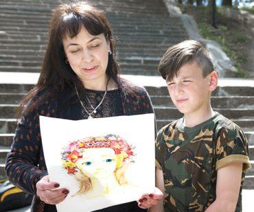 Зворушлива історія про те, як хлопчик із Тернопільщини написав листа, який підтримував медика-добровольця в АТО