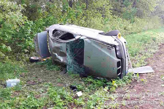 У аварії на Чортківщині загинув чоловік
