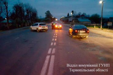 У Смиківцях Тернопільського району зіткнулися дві іномарки