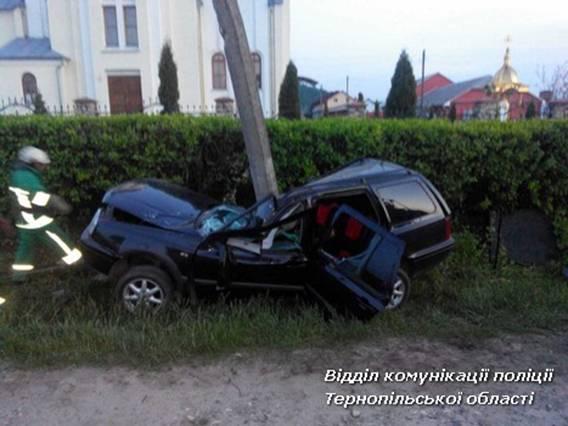 На Кременеччині у ДТП загинуло дві людини