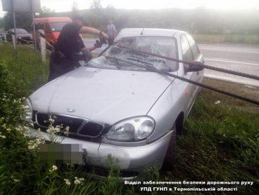На Тернопільщині в ДТП травмувалася жінка