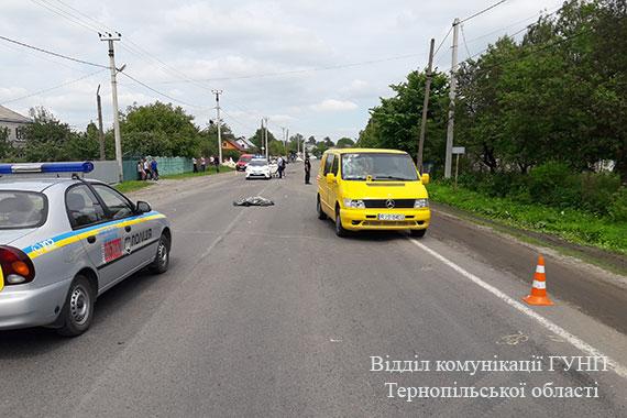 Через власну неуважність на Кременеччині загинув велосипедист