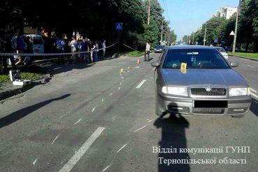 У Тернополі під колесами іномарки загинула дитина