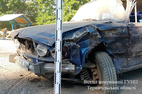 На Тернопільщині у ДТП загинув чоловік