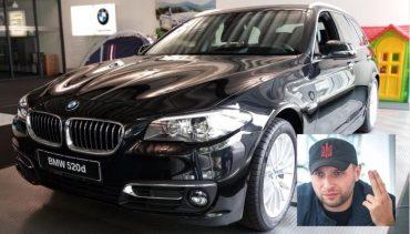 Парасюк на BMW за 1,3 мільйона гривень порушив правила дорожнього руху