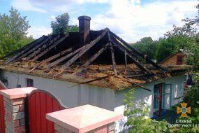 Чотири пожежі на Тернопільщині трапились 22 липня