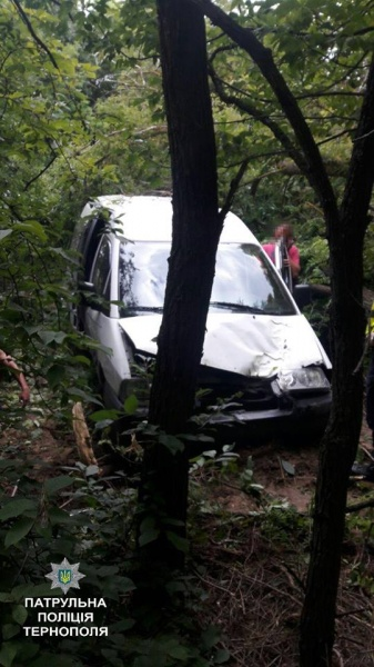 У Ступках п'яний водій заїхав у дерево