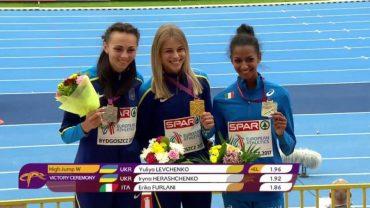 Неймовірно вродлива українська стрибунка Юлія Левченко перемогла на чемпіонаті Європи