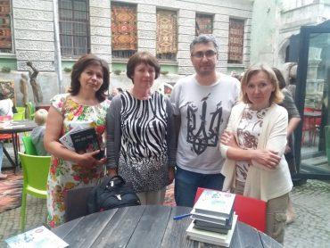 Вахтанг Кіпіані у Тернополі презентував історичні книги про ОУН-УПА