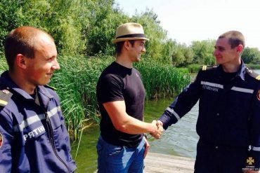 На Тернопільщині ледь не втопився громадянин Чехії