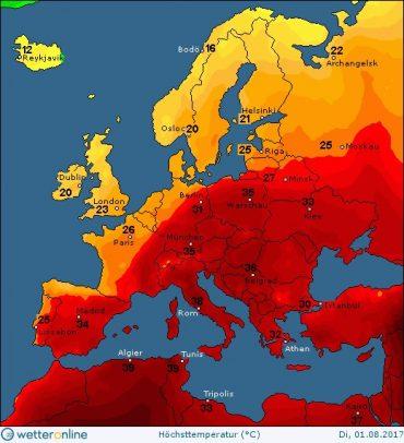 На Тернопільщині буде неймовірна спека до 10 серпня