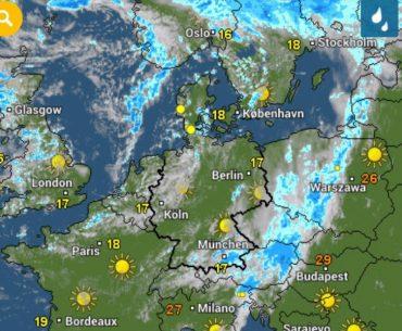 Зміна погоди прийде в Україну на наступному святковому тижні