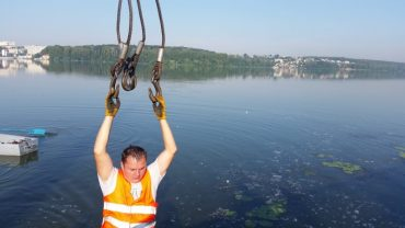 На тернопільському ставі запрацюють дві лінії фонтанів