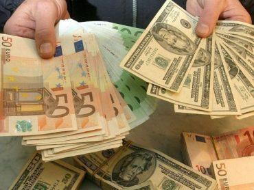 Гривня подорожчала відносно євро на 9 копійок