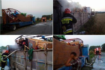 У Борщівському районі врятували вантажівку із атракціонами