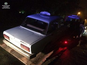 Патрульні розшукали нетверезого таксиста