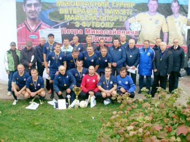 Відбувся турнір ветеранів футболу у Заліщиках